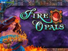 Игра без обязательного вложения денег в онлайн автомат Огненный Опал
